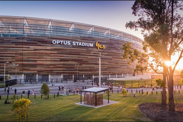 Getting to the new Optus Stadium and the new Perth Children's Hospital